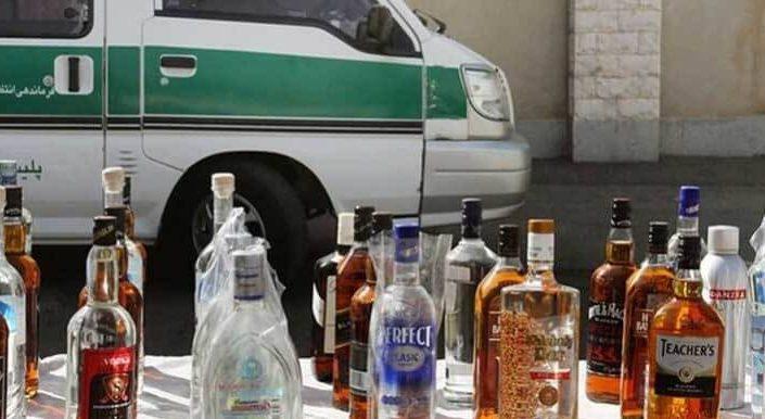 مجازات مشروبات الکلی